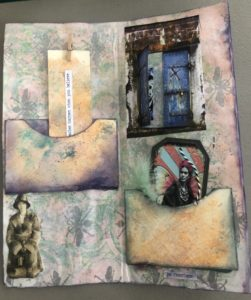 handmade prayerbook with inner pockets