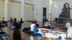 Madalina Blanton teaching